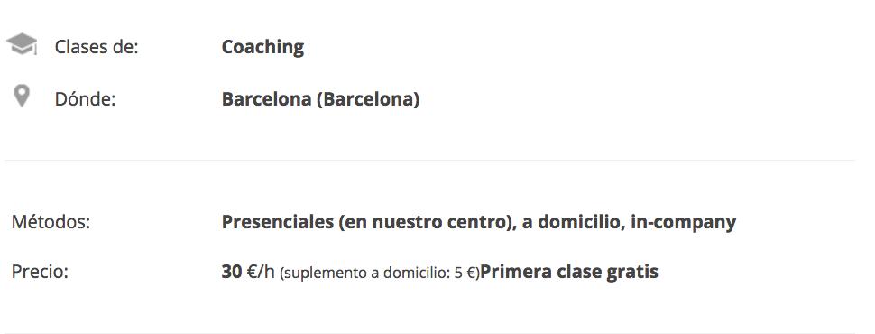 coaching personal barcelona